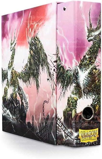 Dragon Shield Slipcase Binder White art Dragon