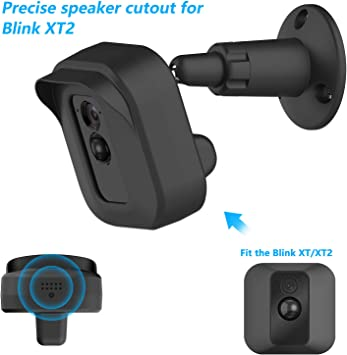 Wall Mount Bracket For Blink XT Home Security Camera System Indoor Outdoor 360