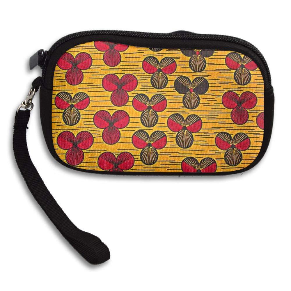 HACVREQ Unisex Personalized Wallet,Flowers Purse Bag Woman Ladies Men Gentlemen