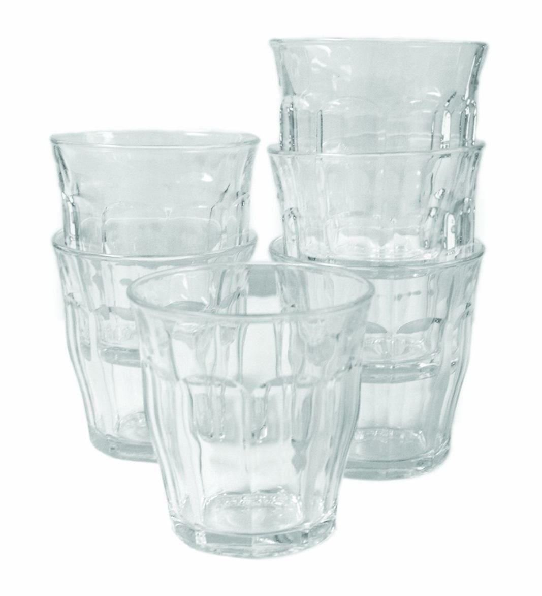 Duralex 16cl Picardie Tumbler Drinking Glasses Pack of 6: Amazon.co.uk:  Kitchen & Home