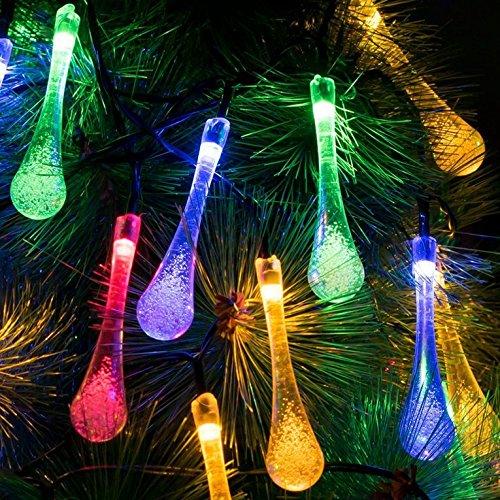 Water-drop Multicolored Lights
