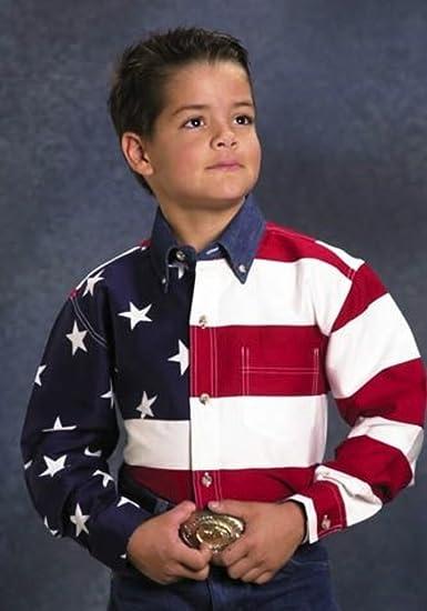94ab9c08 Amazon.com: Roper Stars Stripes Pieced American Flag Patriotic ...