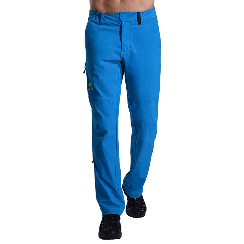 KAILAS PANTS メンズ 29W 41L ブルー B07DCTY938