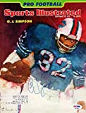 OJ Simpson Signed Magazine Cover Buffalo Bills - PSA/DNA Authentication - Autographed NFL Football Memorabilia
