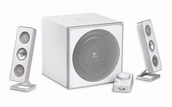 a67bb1d68ca Logitech Z-4i Speakers - white: Amazon.co.uk: Computers & Accessories