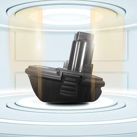 Adaptador convertidor de batería DCA1820 20V a 18V para herramienta eléctrica sin cuerda Dewalt, negro