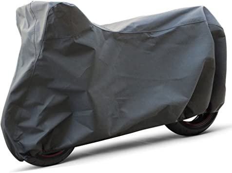 OxGord Superior Motorcycle Cover Fits up to 89 Inches Ready-Fit // Semi Custom Basic Out-Door 4 Layers