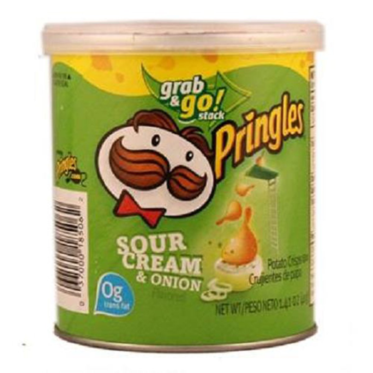 Product Of Pringles, Sour Cream & Onion - Small, Count 1 - Chips / Grab Varieties & Flavors