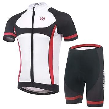 Amazon.com: Unkoo Maillot Vtt - Camiseta de ciclismo para ...