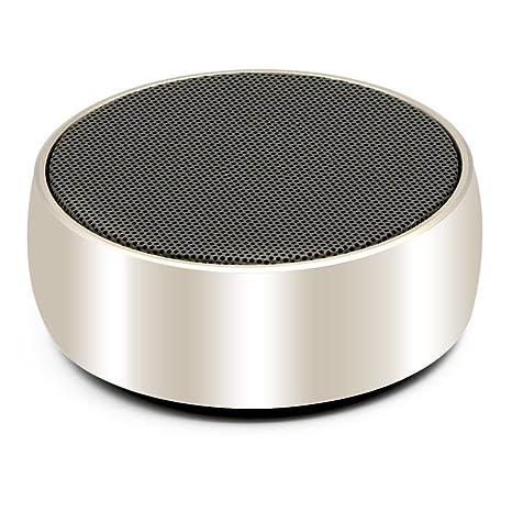iitrust Altavoz portátil, mini portatil recargable altavoz Bluetooth para Tablet / ordenadores portátiles / móviles