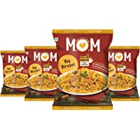MOM Meal of The Moment Veg Biryani Pouch, 73g (Pack of 4)