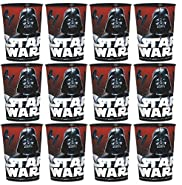 Classic Star Wars Favor Cups Set of 12