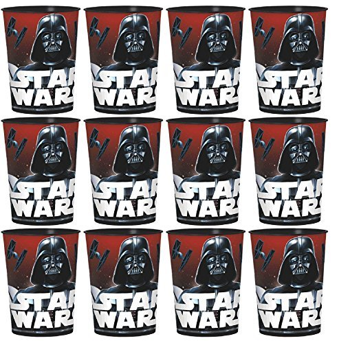 Classic Star Wars Favor Cups Set of 12 -