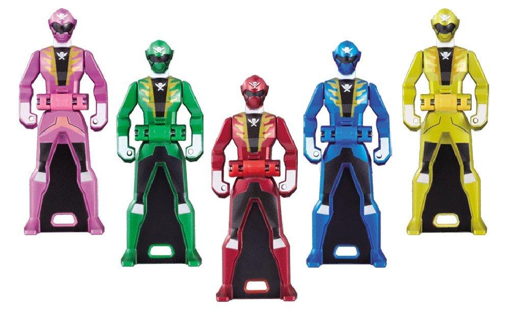 Gokaiger Ranger Key Set DX