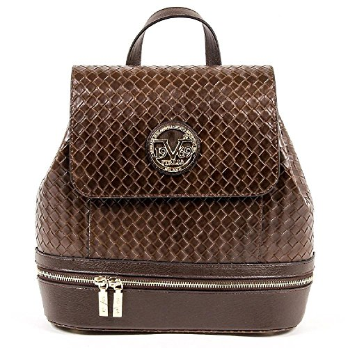 6cb38bba5648 Versace 19.69 Abbigliamento Sportivo Srl Milano Italia Womens Handbag  V1969004B COFFEE