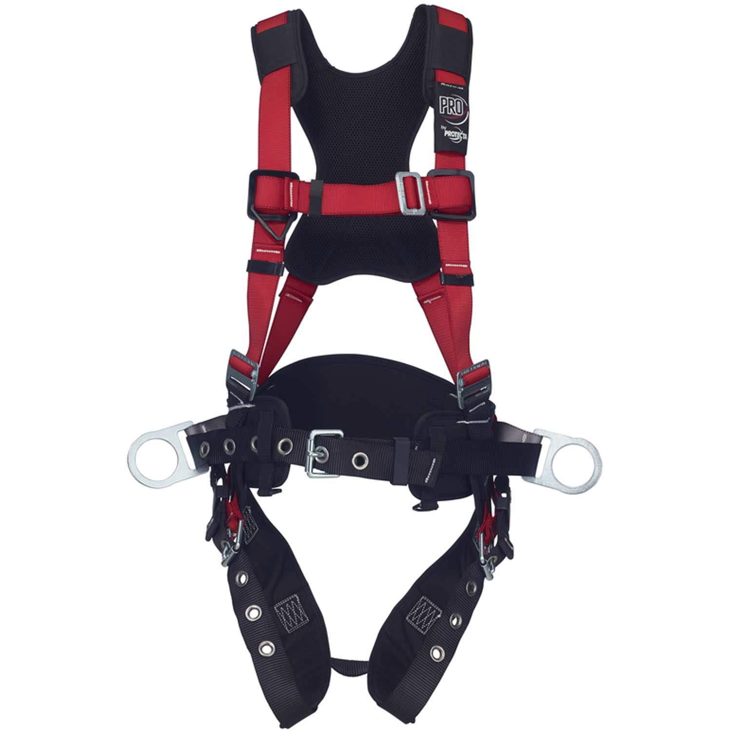 Protecta 1161205 Comfort Construction Style Positioning Harness Size Medium/Large by ProTecta