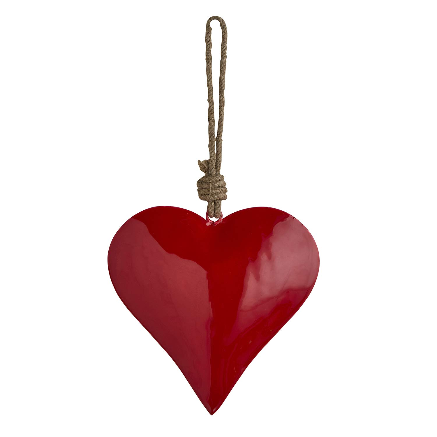 Stephan Baby Enamel Nursery Decor Collection, Hanging Red Heart
