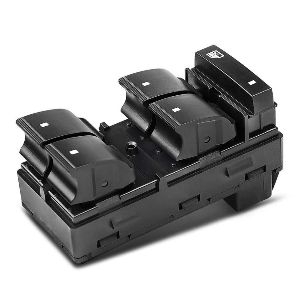 Power Window Master Control Switch Left For Chevrolet HHR Silverado GMC Yukon