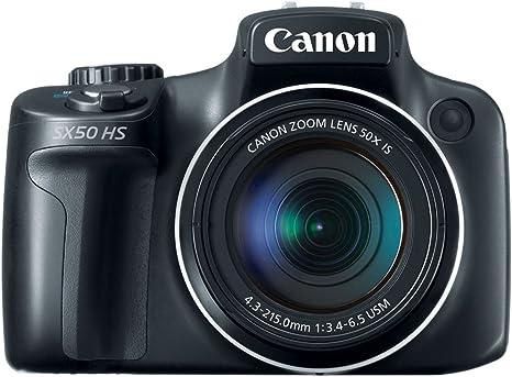 Canon PowerShot SX50 HS Cámara Puente 12,1 MP 1/2.3