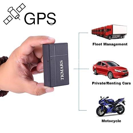 Mini rastreador GPS, localizador GPS / tarjetas tkmars Localizador en tiempo real Niños perros gatos
