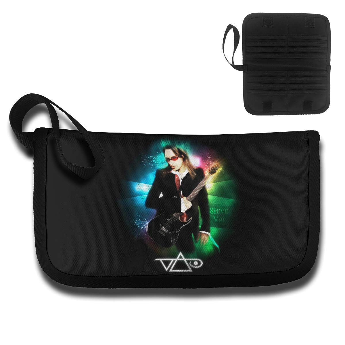 4.6oz KELTY S LANCE Steve Vai Durable Unisex Card Bag,with A Handle,Travel Wallet
