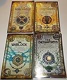 download ebook author michael scott four book bundle (books 3,4,5, and 6) of the secrets of the immortal nicholas flamel series, includes: book 3, the sorceress - book 4, the necromancer - book 5, the warlock - book 6, the enhantress pdf epub