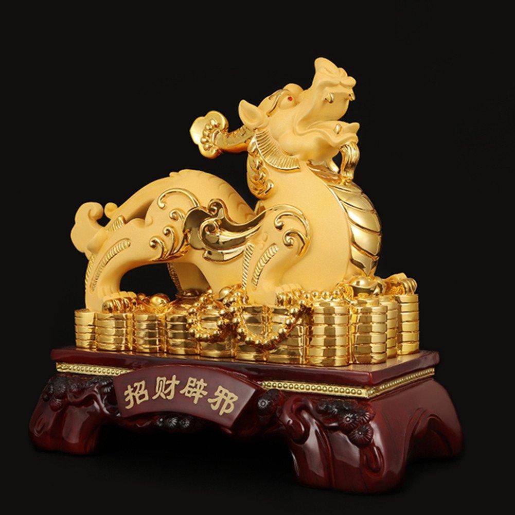 【絶品】 ラッキー貔貅Brave B0775N1PCN Troops樹脂装飾ホーム&オフィスFeng BJ0006 Shui L(22x12.8x23.5cm) Decorative Handicrafts Goldenギフト M(18.2x10.8x18cm) BJ0006 B0775N1PCN L(22x12.8x23.5cm) L(22x12.8x23.5cm), iS OLLiES:1486a968 --- mcrisartesanato.com.br