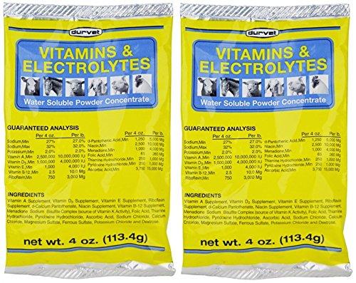Vitamins & Electrolytes Conc, 4 oz (113.4g) (2 (Supplements Poultry)
