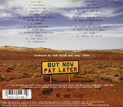 Live: Right Here Right Now by Warner Bros. (Image #1)