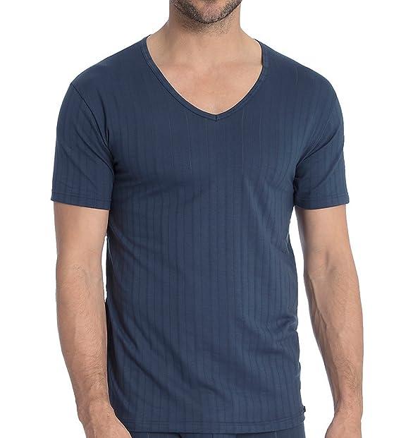 Calida Pure & Style, Ropa Interior técnica para Hombre, Azul (Indigo Mood 509