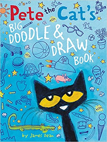 Pete the Cat\'s Big Doodle & Draw Book: James Dean: 9780062304421 ...