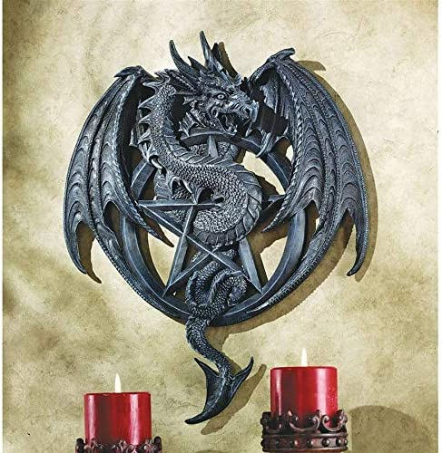 Design Toscano The Dragons Pentacle Wall Sculpture