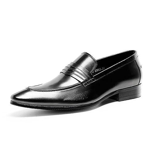 Mocasines para Hombre Brogues Zapatos Clásicos de Estilo Formal Zapatos de Negocios Caballero Traje: Amazon.es: Zapatos y complementos