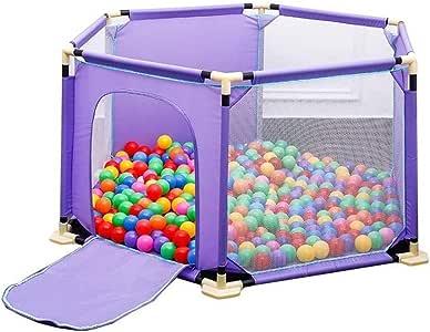 Wangcrtzp Bebé Niño pequeño Valla de Seguridad Valla Interior Bebé Marine Ball Pool Drop, 68 cm de Alto for Interior al Aire Libre Es Resistente Durable Adecuado Niños Niñas: Amazon.es: Hogar