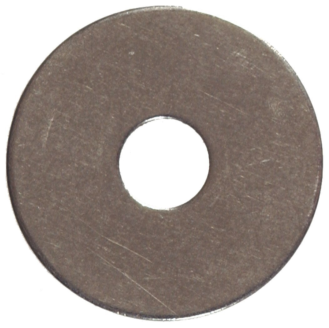 10-Pack The Hillman Group 2915 1//4 x 1-1//2-Inch Stainless Steel Fender Washer