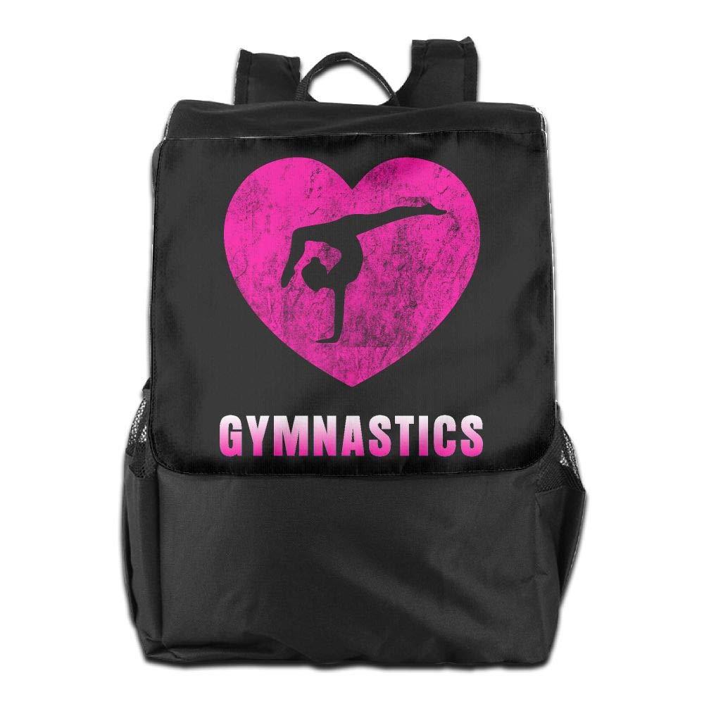 Louise Morrison Love Gymnastics Pink Women Men Laptop Casual Business Travel Backpack College School Bookbag