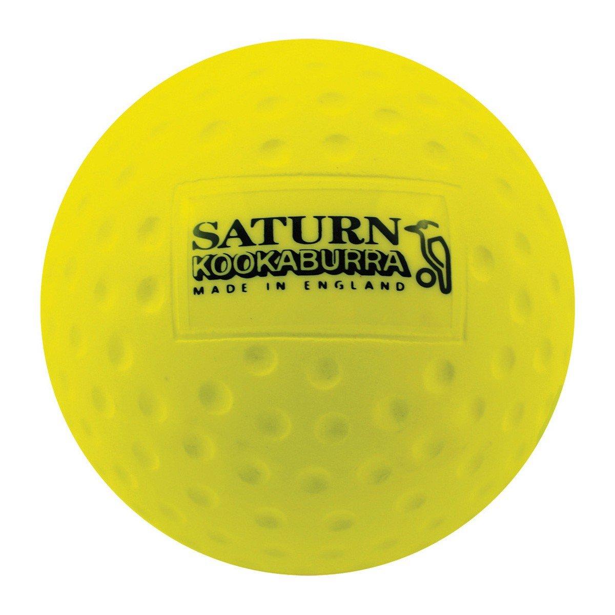 KOOKABURRA Saturn Bohrmulden-Hockey Praxis & Training Ball gelb