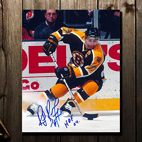 Signed Ray Bourque Photograph - HOF DEFENDER 8x10 - Autographed NHL Photos