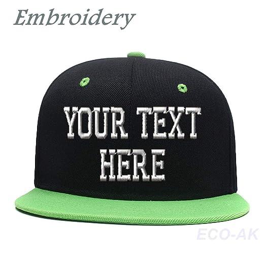 dcaf958066624 Unisex Embroidered Snapback Hip Hop Hat Custom Baseball Cap Mesh Trucker  Dad Hat