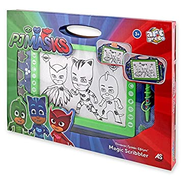 Pj Mask - PJ Masks - Pizarra mágica Large: Amazon.es ...