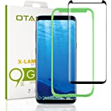 [Tray Installation]Samsung Galaxy S8 Screen Protector, OTAO [Case-friendly] Tempered Glass Screen Protector with Positioner For Galaxy S8 (S8)