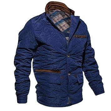 Logobeing Chaqueta de Hombre Invierno Sudaderas Hombre Manga Larga con Cremallera Superior Jacket Chaqueta Abrigo Ropa
