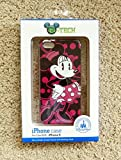iphone 5 case disney world - Disney D-tech World WDW Parks Authentic Pink & Black Fashionable Miss Minnie Mouse Iphone 5 Phone Hard Case & Screen Guard Cleaning Cloth