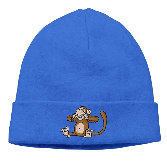 3b4d8ed5ad1 21kingeh Men and Women Monkey Cute Knit Beanie Cap Winter Warm Knit ...