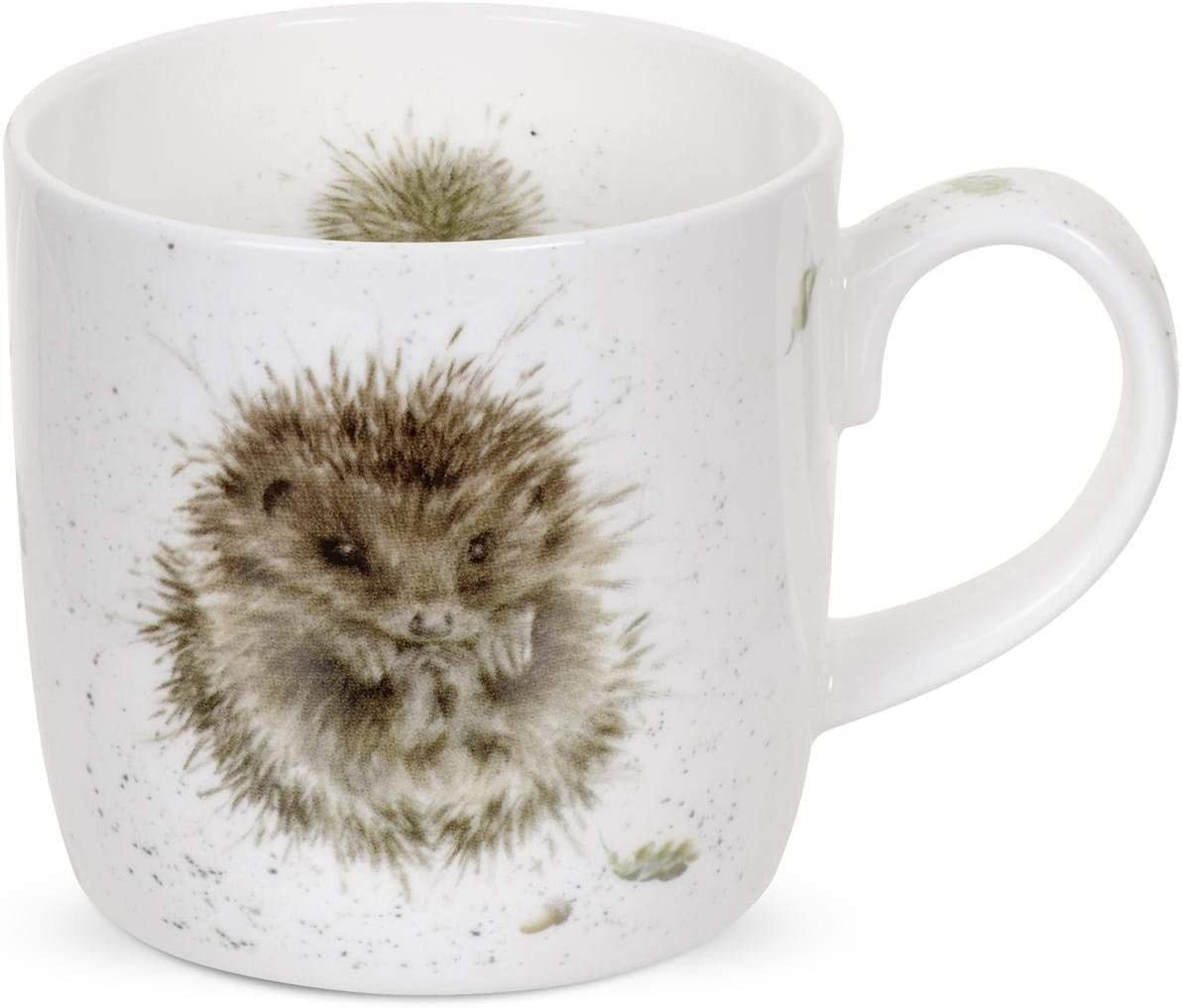 Royal Worcester Wrendale Designs Mug - Awakening Hedgehog, 11 oz