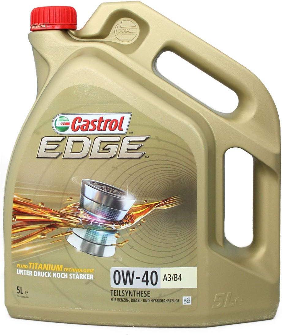 Castrol Edge Engine Oil 0w 40 A3 B4 5l German Label Auto