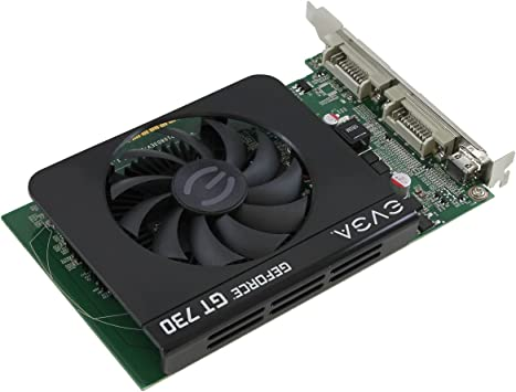 EVGA GeForce GT 730 DirectX 12 04G-P3-2739-KR 4GB 128-Bit DDR3 PCI Express 2.0 V