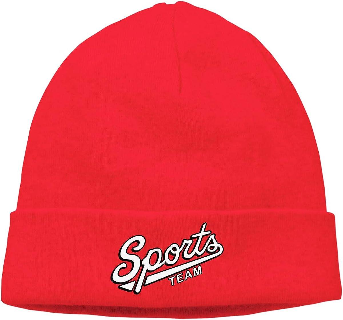 BBlooobow Unisex Sports Team Soft Skull Cap
