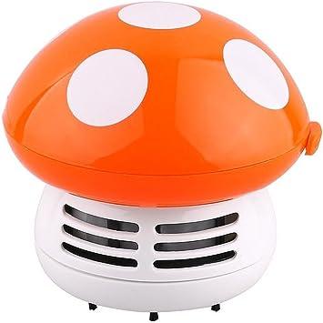 Lesley Pierce Mignon seta Mini Aspirador para limpiar polvo mesa/escritorio/cojín/coche – color morado, naranja: Amazon.es: Bricolaje y herramientas