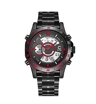 Wj Reloj Deportivo Reloj para Hombres Y Mujeres Reloj Despertador Semanal Reloj Indicador para Calendario Dual